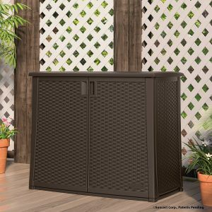 11 wicker storage boxes for the pool, patio or deck. They are beautiful, durable and functional.