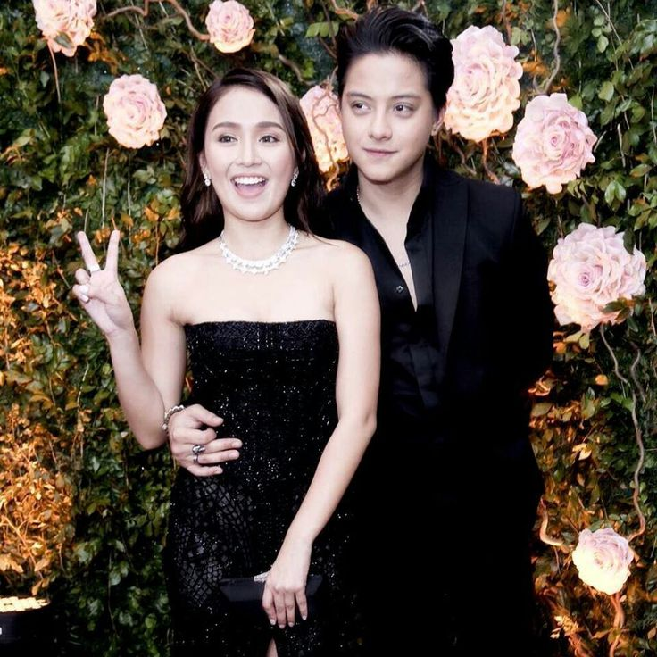 This is the handsome Daniel Padilla and the pretty Kathryn Bernardo smiling for the camera while striking a wacky pose at the red carpet at the 2016 Star Magic Ball held last October 22, 2016 at the Shangri-La Hotel in Makati City. Indeed, KathNiel is my favourite Kapamilya love team and Star Magic talents. #KathrynBernardo #TeenQueen #DanielPadilla #KathNiel #KathNielBernaDilla #StarMagicBall #StarMagicBall2016