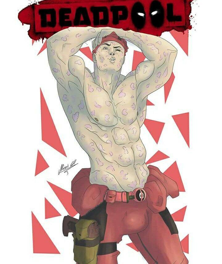 Deadpool sexy by moisesgh
