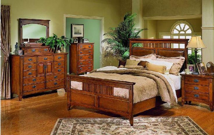 Elegant Mission Style Bedroom  -   #bedroommissionstyle #missionbedroomdesign #missionbedroomstyle #missionstylebedroomdecorating #missionstylebedroomideas