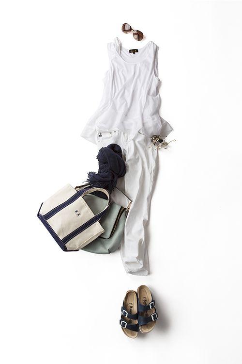 Kyoko Kikuchi's Closet | 気軽に着たいオールホワイトコーデ