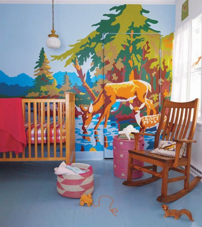 LOVED This Paint By Numbers Wall In The Land Of Nod Catalog. Cool Idea For  One Of The Kids Rooms? Part 79