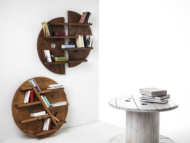 #design #ecodesign #interior #sbobina #emilianobona #library #forniture #table #book    www.sbobinadesign.com