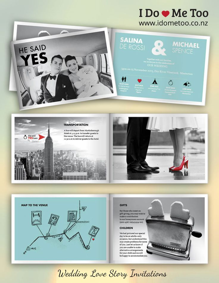 New York Retro Wedding Invitation Style - Create your very own Love Story invitation in Black and White with I Do - Me Too Wedding Invitations. Each 8-page invitation is fully customisable to express your unique identity as a couple. Check inside this invitation now and imagine your own love story at http://www.idometoo.co.nz/new-york-retro-wedding-invitation.html   #weddingstationery #weddinginvites #invitation #weddinginspiration