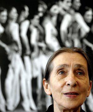 Pina Bausch: Pina Bausch attending the international dance festival NRW in 2008