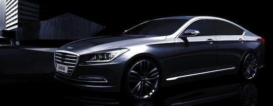 Hyundai Genesis 2014 - Le prime immagini teaser   Hyundai Motor Company scalda l'atmosfera intorno alla nuova berlina premium di alta gamma del suo portafoglio prodotti. La Genesis, lanciata per la prima volta nel 2008, si appresta ad entrare in listino nella sua ultima evoluzione. Si tratta di un modello non commercializzato...