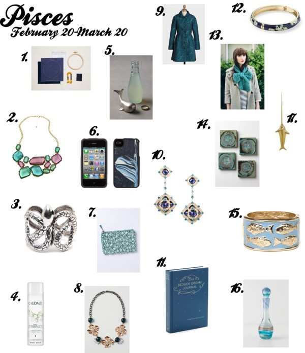 zodiac gift guide: pisces Pisces (February 19-March 20 ...