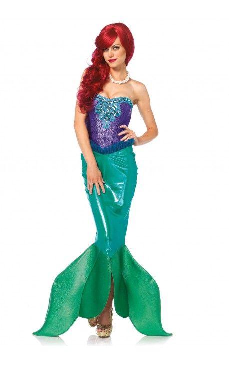 Disfraz de la Sirenita para Mujer
