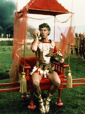Malcolm McDowell In Caligula directed by Tinto Brass, Bob Guccione and Giancarlo Lui, 1979