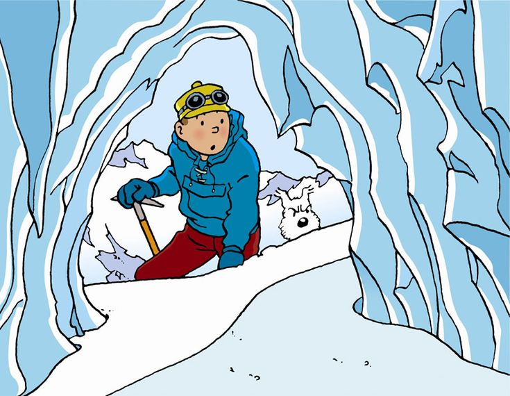Tintin In Tibet - this comic book story haunted my childhood. Stunning use of white spaces for the Tibetan snow... and the emotional storyline was apparently the result of a spiritual crisis for creator Hergé. (this pic is an 'pop' art print with speech bubbles removed)