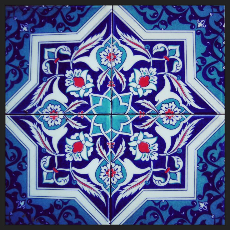 Turkey, beautiful ceramic tile
