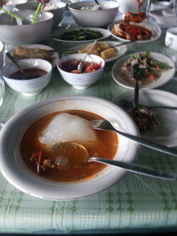 Papeda traditional food