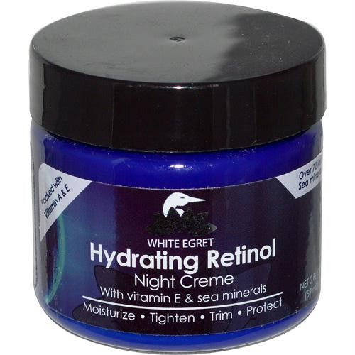 White Egret Night Creme - Hydrating Retinol - 2 oz