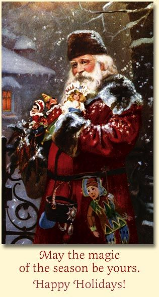 Elegant Father Christmas, Old World Christmas