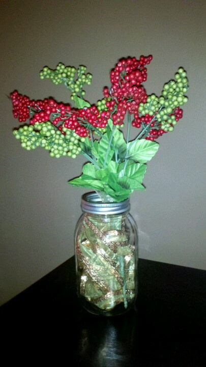 Easy and cheap Christmas decoration.