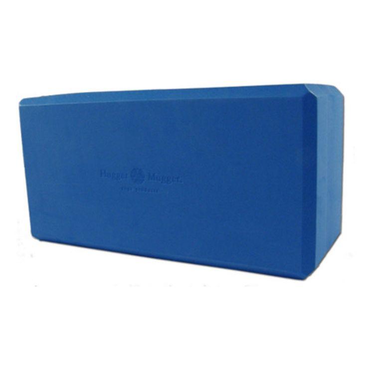 Hugger Mugger Big Blue Foam Yoga Block - BL-FOAM-5-BIGBLUE