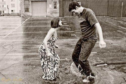 Engagement photos tomorrow with a 70% chance of rain… - Weddingbee
