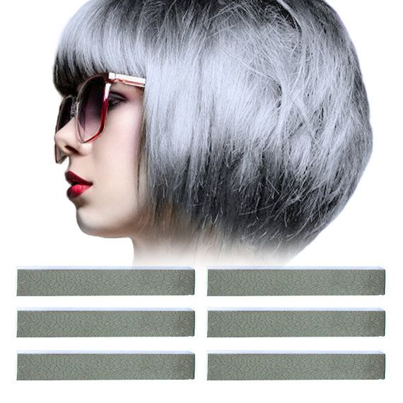 6 Best Temporary Metallic Silver hair Dye for by PastelStrands