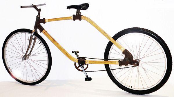 Bamboo bike. #YD #YankoDesign #bamboo #bike #sustainable
