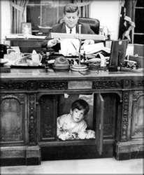 John F, Kennedy & John Kennedy, Jr.White House