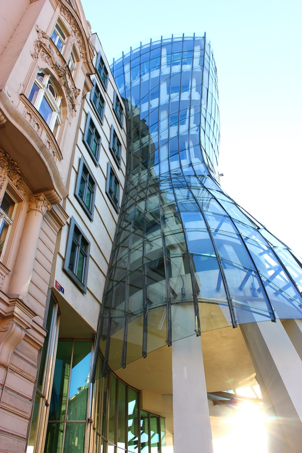 Dancing House in Prague #Frank Gehry
