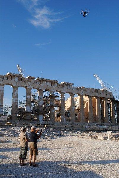 Russians Offer Bird's Eye View Of Greece