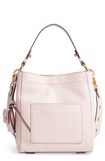 9650f1edee2 Cole Haan Small Zoe Leather Bucket Crossbody Bag   On-Trend Shoulder ...