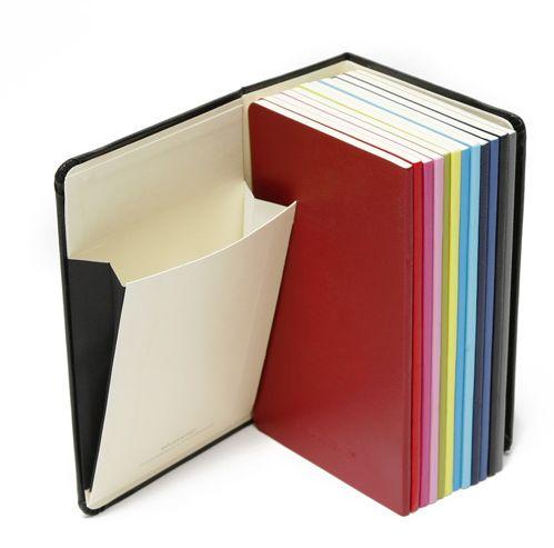 moleskine 12 small notebooks-calendar =) - niceness