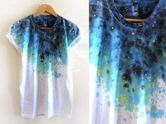 como pintar camisetas tie dye