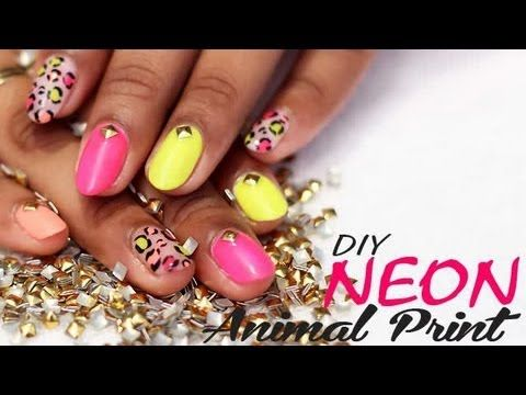 Animal prints are immortal trends. They never become old. In this episode of nail it we show you how to get animal-print done on nails though a step-by-step procedure. #ventunonailart #nailart #neonnaildesign