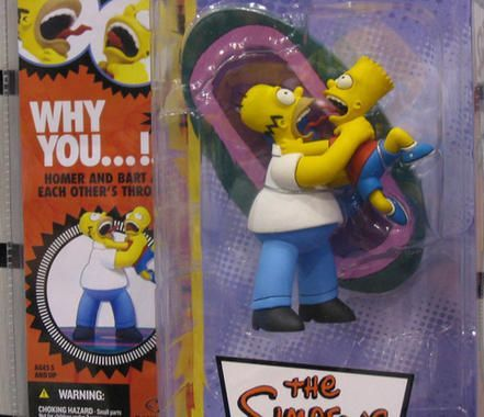 vintage the Simpsons toys   Simpsons Action Figures : Ser. 1 - 'Why You...!'