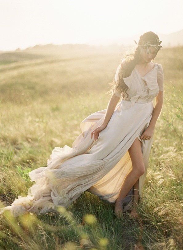 = love the ethereal feeling of the skirt material