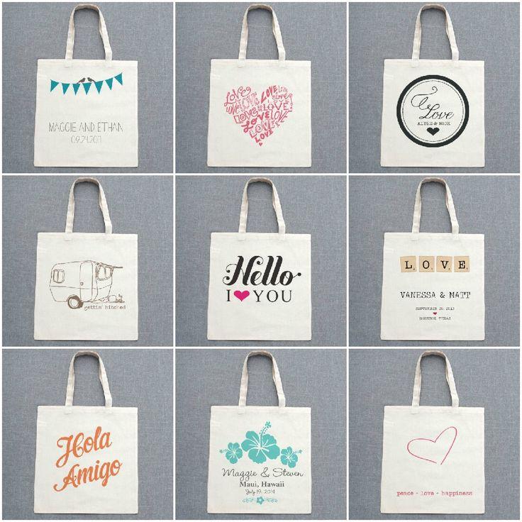 Detalle para invitados: bolsas personalizadas   AtodoConfetti - Blog de BODAS y FIESTAS llenas de confetti