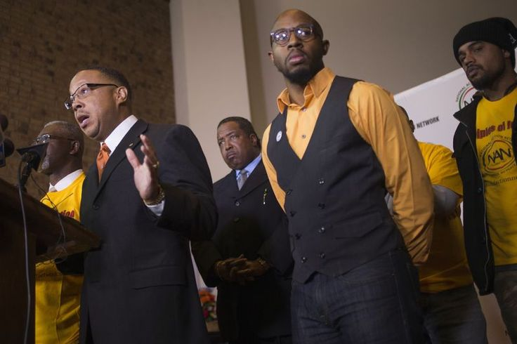 Michael Brown family is 'profoundly disappointed,' urges peaceful protests -- REUTERS/Adrees Latif
