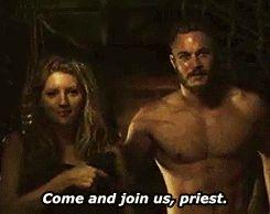 "amedawg18, amanda-gayfried: ""I've taken vows of... amedawg18, Together in love, together in battle. Vikings :: History Channel :: Ragnar Lothbrok (Travis Fimmel), Lagertha Lothbrok (Katheryn Winnick), Athelstan (George Blagden) ot3 :: Team Threesome North :: Lagertha x Ragnar x Athelstan :: slash :: het :: bi"