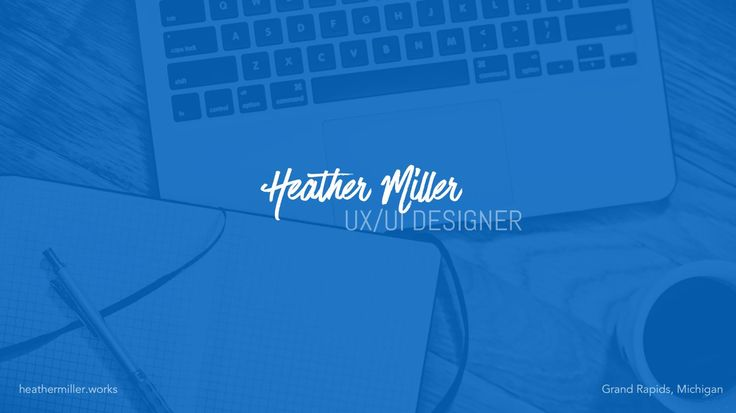 Compilation of Heather Miller's Contract UX/UI Work
