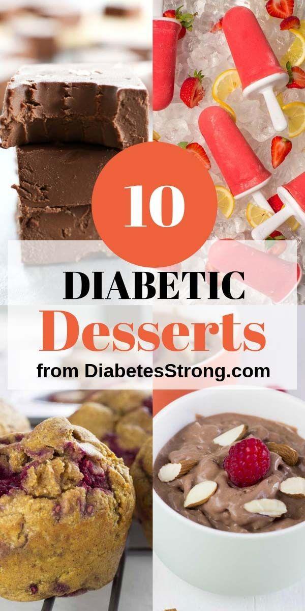 10 Easy Diabetic Desserts Low Carb Diabetic Friendly Desserts Low Carb Recipes Dessert Diabetic Desserts Easy