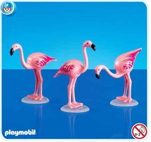 $3.98 Playmobil 7432 3 Flamingos  From PLAYMOBIL®   Get it here: http://astore.amazon.com/toys4kids09-20/detail/B002C8LK52/186-4678595-8875665