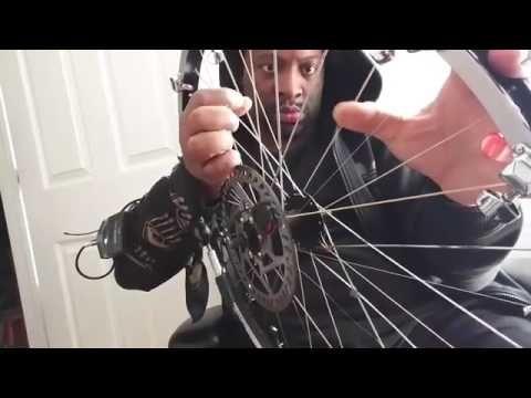 Es capaz de hacer música con la rueda de una BTT - Videos de Ciclismo