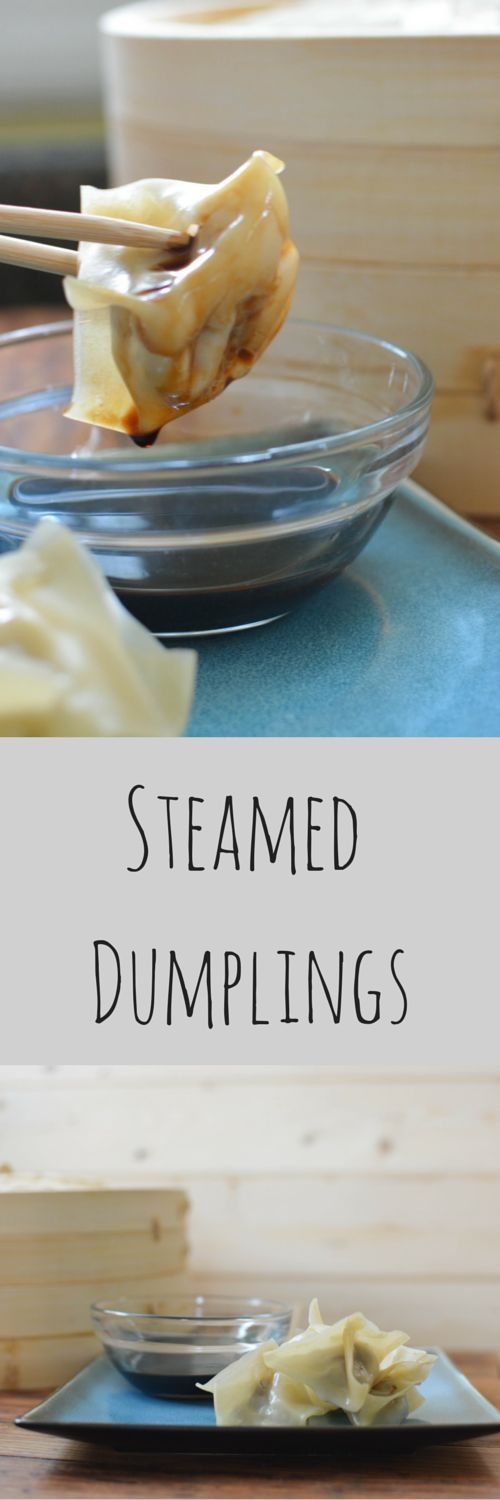Take out at home with Steamed Dumplings.  This simple pork steamed dumpling recipe is a kid friendly meal for any weeknight. Make your own steamed dumplings at home and save money and control your ingredients.