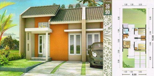 Desain Rumah Type 36 Luas Tanah 90