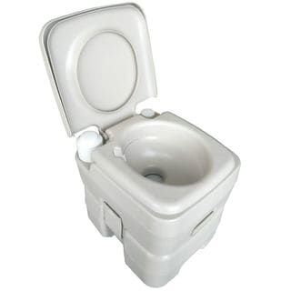 CHH-1020T 20L Portable Removable Flushing Toilet Outdoor Camping Potty Grey | Overstock.com Shopping - The Best Deals on Camping Sanitation and Hygiene