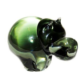 Glass Hippo - Large