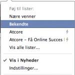 Segmenter dit indhold på Facebook