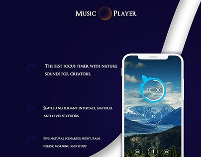 Music Player App | Search by Muzli