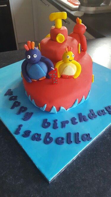My twirlywoos cake