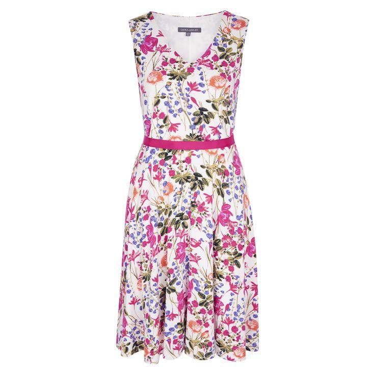 Laura Ashley Floral Jersey Dress #Herbarium