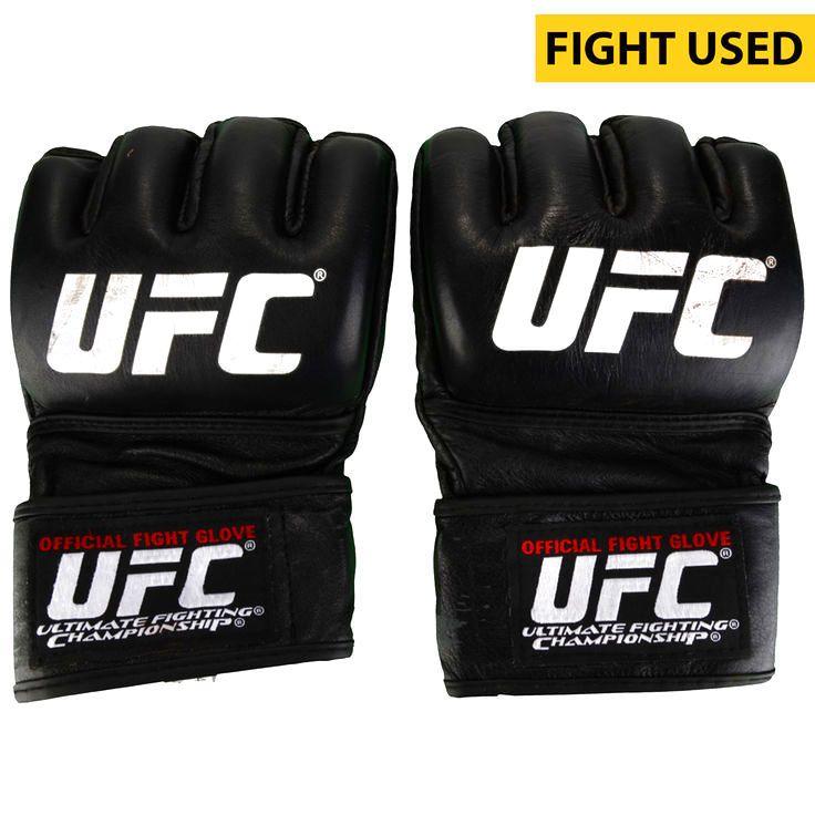 Sean Strickland Ultimate Fighting Championship Fanatics Authentic UFC Fight Night: Cowboy vs. Cowboy Fight-Worn Gloves - Defeated Alex Garcia via Third Round TKO - $279.99