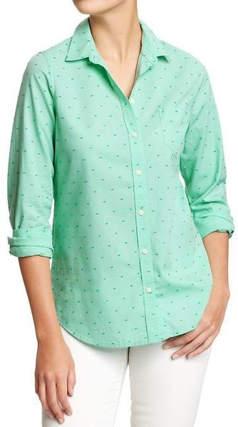 Old Navy Oxford Shirts - Lyst