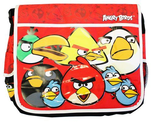Angry Birds Messenger Bag  Angry Birds Shoulder Bag -- Want additional info? Click on the image.